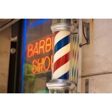 Външна обозначителна табела за бръснарница- Barber Pole